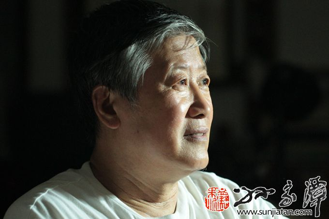 孙家潭-著名书法家、篆刻家、古玺收藏家、古砚收藏家